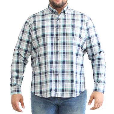 پیراهن سایز بزرگ کد محصول DEB7710