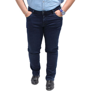 شلوار جین سایز بزرگ کد محصول lacarino0100