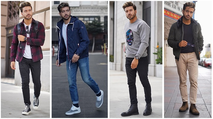 رنگ هایی که مردان باید در پاییز بپوشند