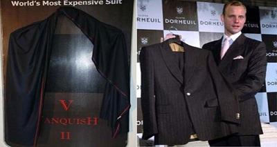 گران قیمت ترین کت شلوارهای مردانه جهان را بشناسید .