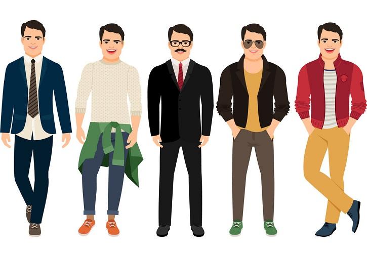 ترفند های لباس پوشیدن برای مردان مختلف