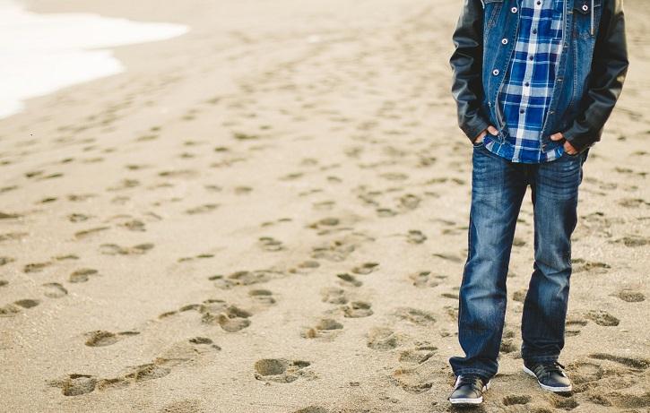 شلوار جین مردانه ( مناسب مردان چاق )