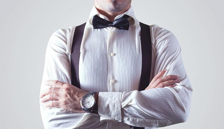 نحوه ست کردن پیراهن سفید مردانه