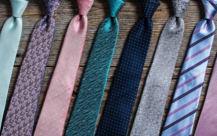 تاثیر رنگ کراوات ها