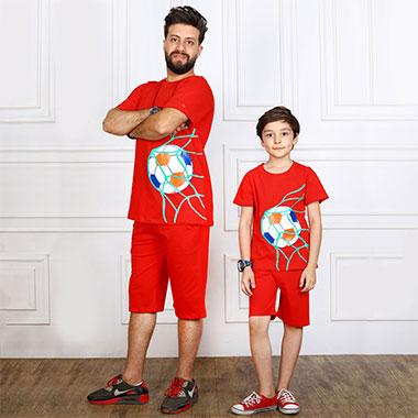 لباس ست پدر و پسر (پسرانه)کدمحصول اسکوپی001