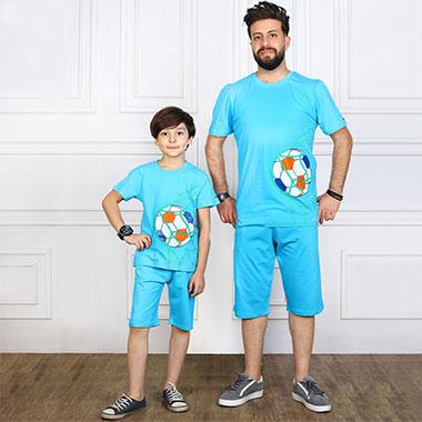 لباس ست پدر و پسر (پسرانه)کدمحصول اسکوپی003