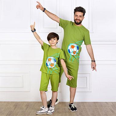 لباس ست پدر و پسر(پسرانه) کدمحصول اسکوپی004