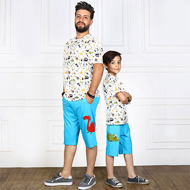 لباس ست پدر و پسر (پسرانه)کدمحصول راسکی002