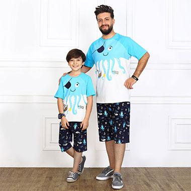 لباس ست پدر و پسر (پسرانه)کدمحصول ویلی003