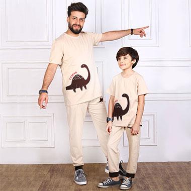 لباس ست پدر و پسر(پسرانه) کدمحصول کاسپر002