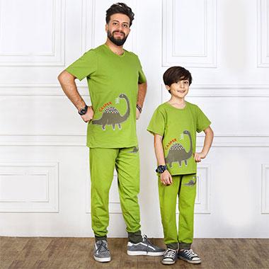 لباس ست پدر و پسر(پسرانه) کدمحصول کاسپر003