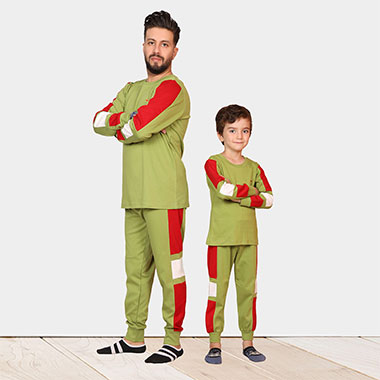 ست لباس پدر وپسرکد محصولJosper308423